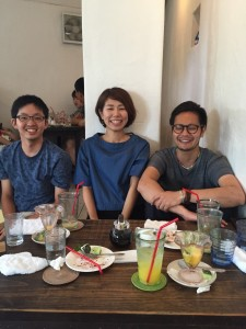 Lunch with former students