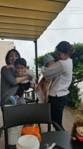Ai and Shiori and Babies